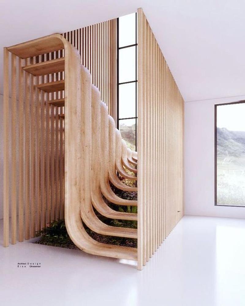 Những mẫu cầu thang nghệ thuật ấn tượng 10.jpg