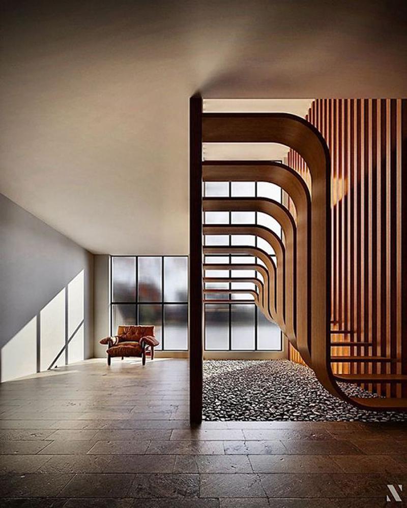 Những mẫu cầu thang nghệ thuật ấn tượng 6.jpg