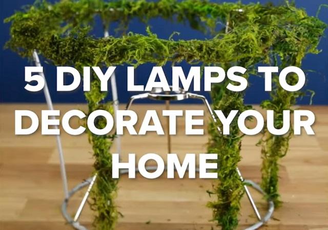 5 Cách tự làm đèn ngủ độc đáo từ vật liệu tái chế