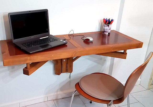 Cách tự làm bàn gấp tại nhà