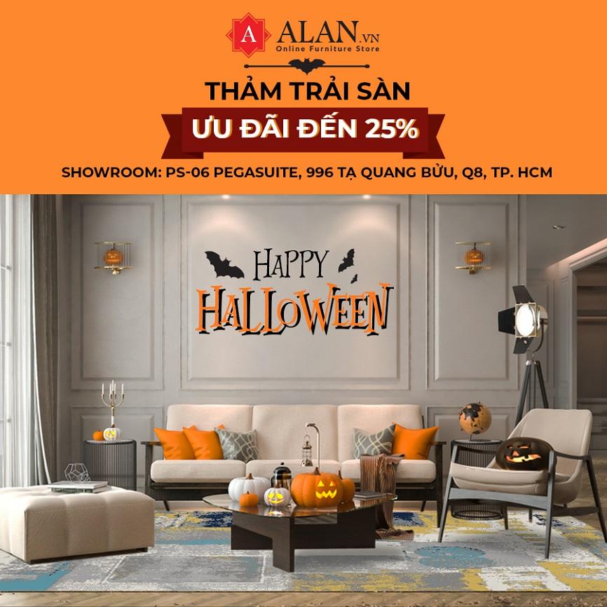 Hao hung don Halloween tai Alan