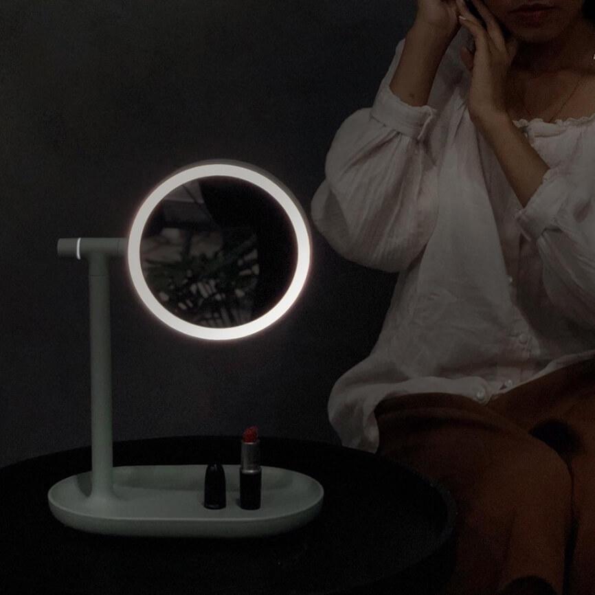 Guong den LED - do trang tri noi that da nang