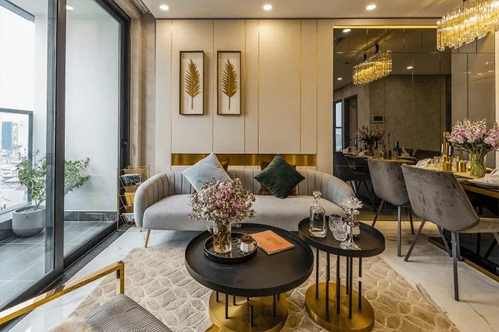 Khám phá thiết kế nội thất căn hộ mẫu Sunshine City Sài Gòn