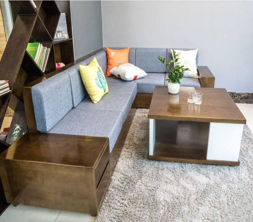 Nen mua sofa go tu nhien hay sofa go cong nghiep?
