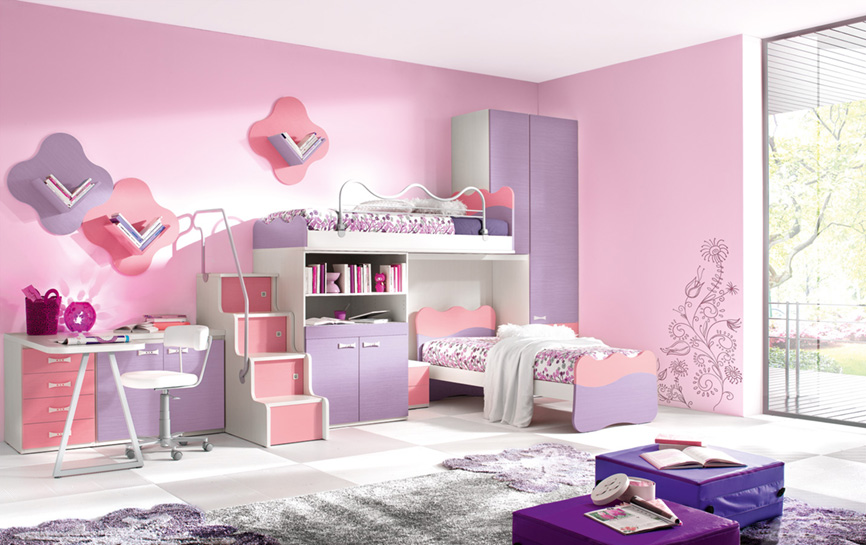 Thiết kế nội thất phòng ngủ trẻ em ảnh hưởng tới tính cách của bé